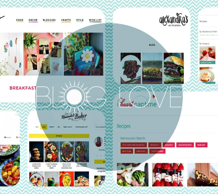 Collage van foodbloggers