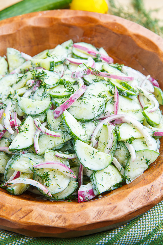 Creamy Dilled Cucumber Salad 800 9664