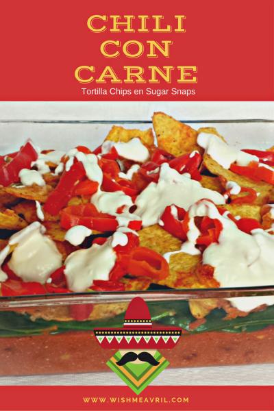 Recept | Chili Con Carne met Tortilla Chips en Sugarsnaps