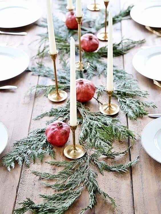 Simpele kerstmis decoratie