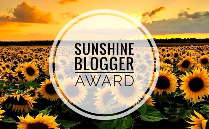 Sunshine blogger Award