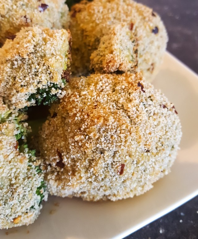 Geroosterde Broccoli Snack