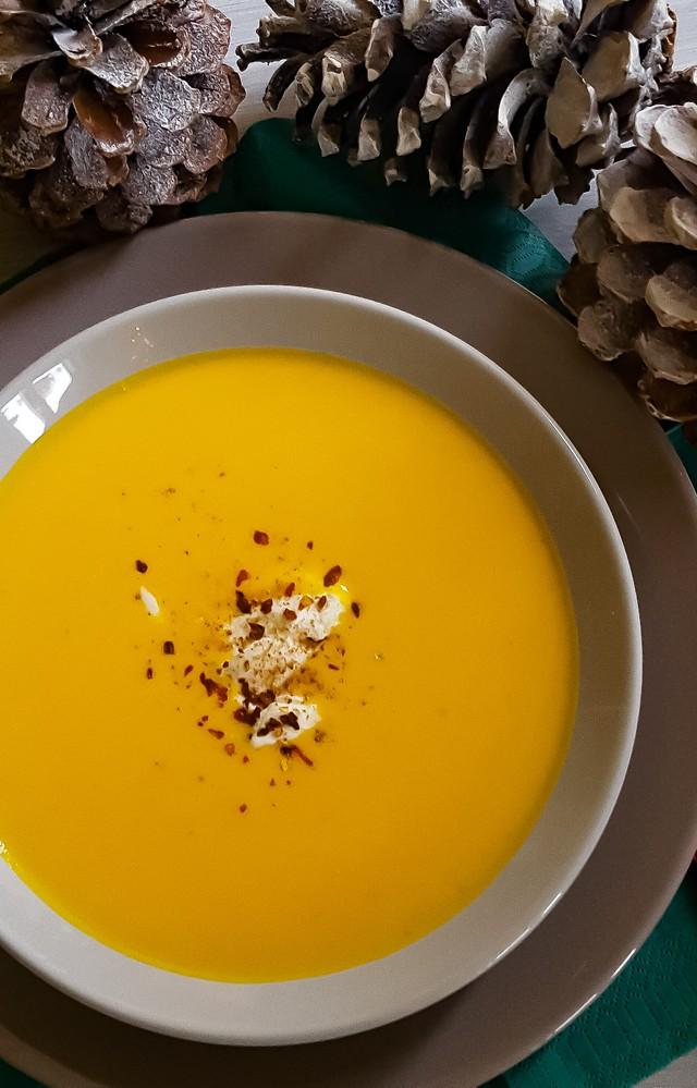 Pompoen Mascarpone soep recept