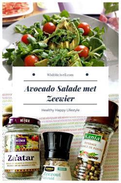 Avocado Salade met Zeewier