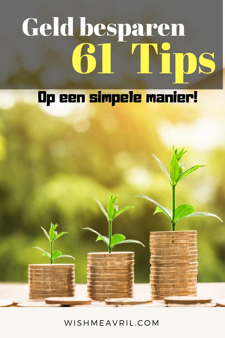 61 Tips om Geld te besparen