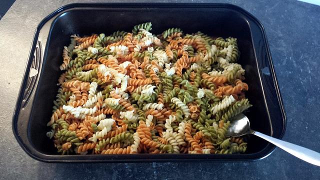 pastasalade met wilde abrikoos