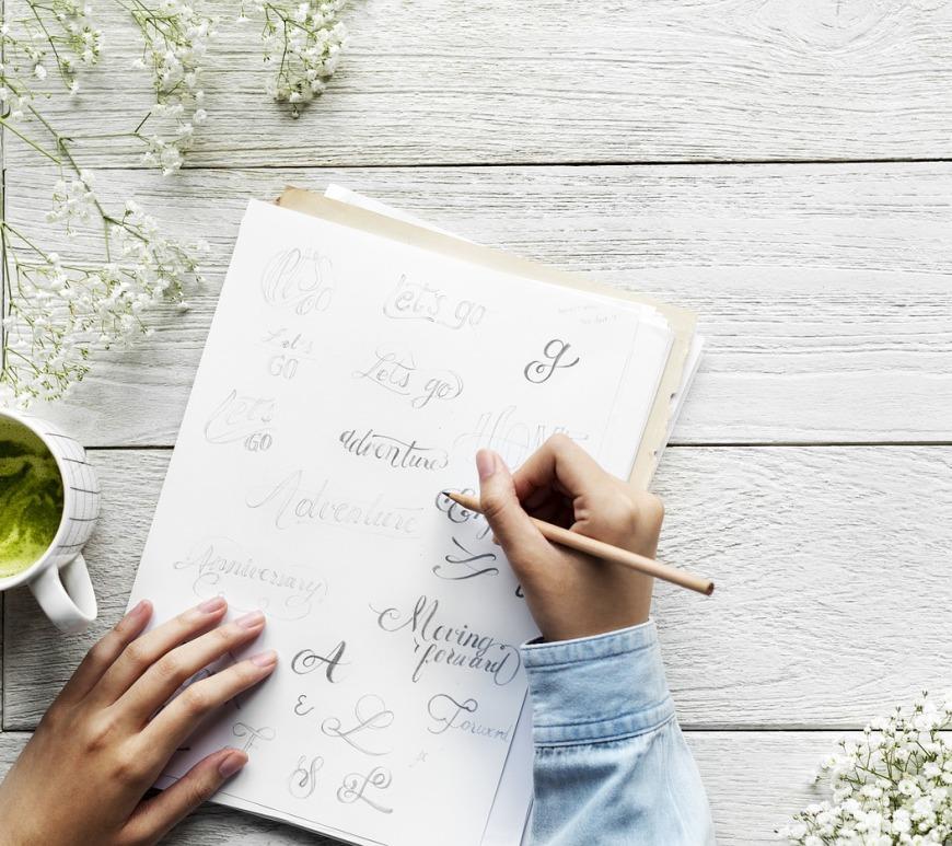 Handlettering en Doodles