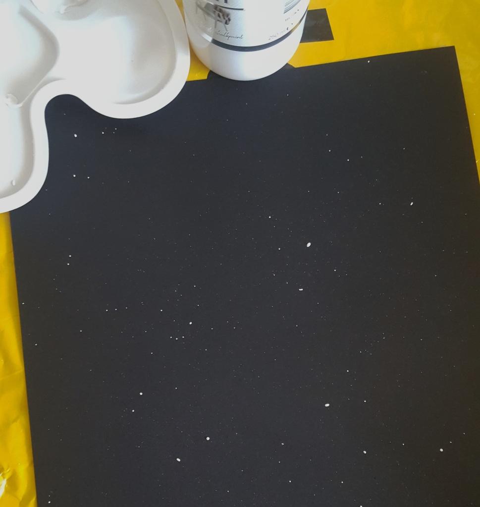 DIY Maanstanden op Papier