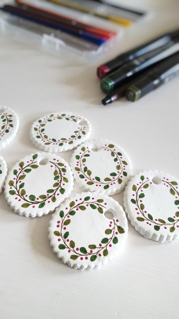 DIY Boetseerklei Ornamenten