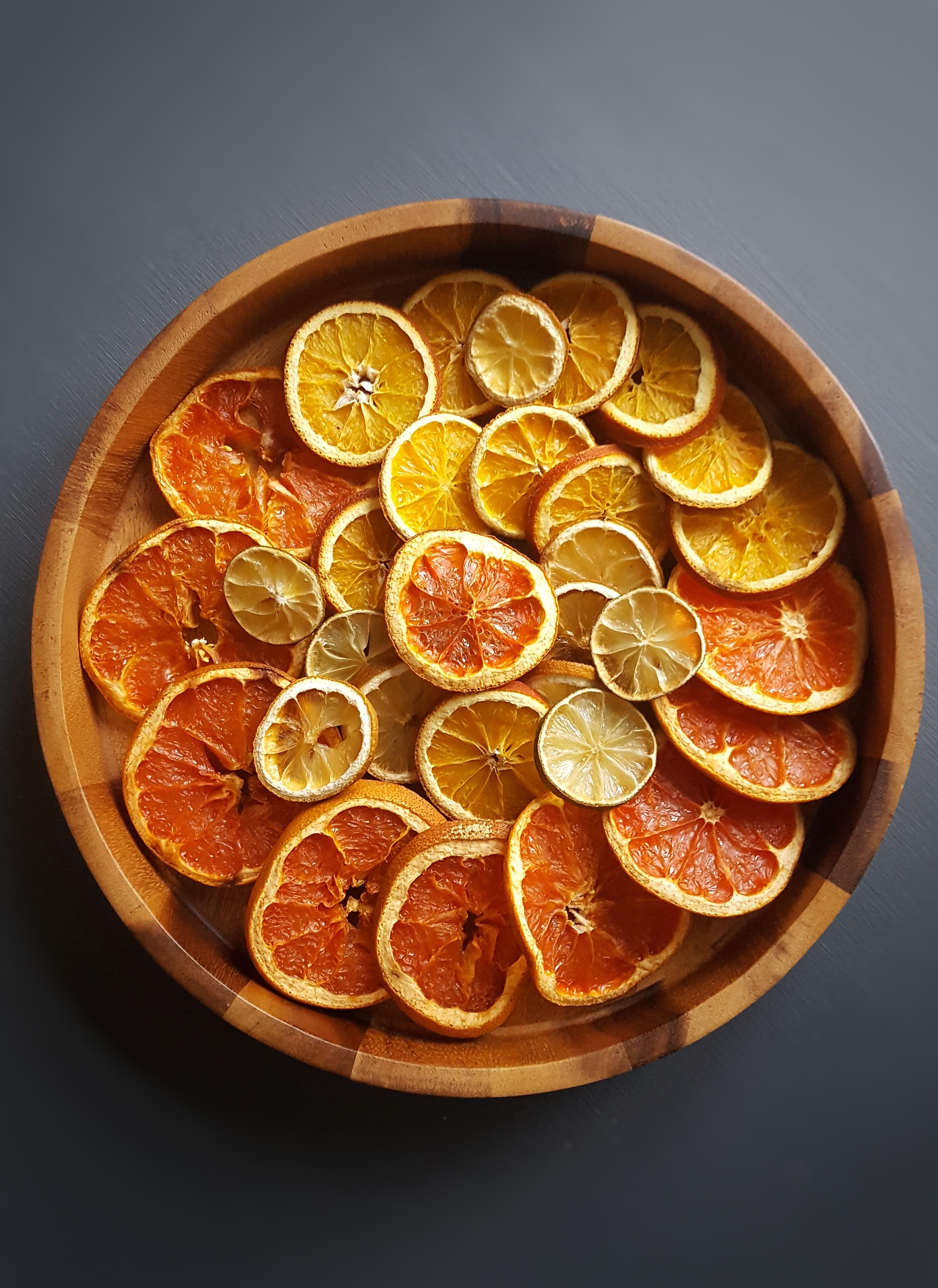 DIY Gedroogde Sinaasappelschijven en andere Citrusvruchten