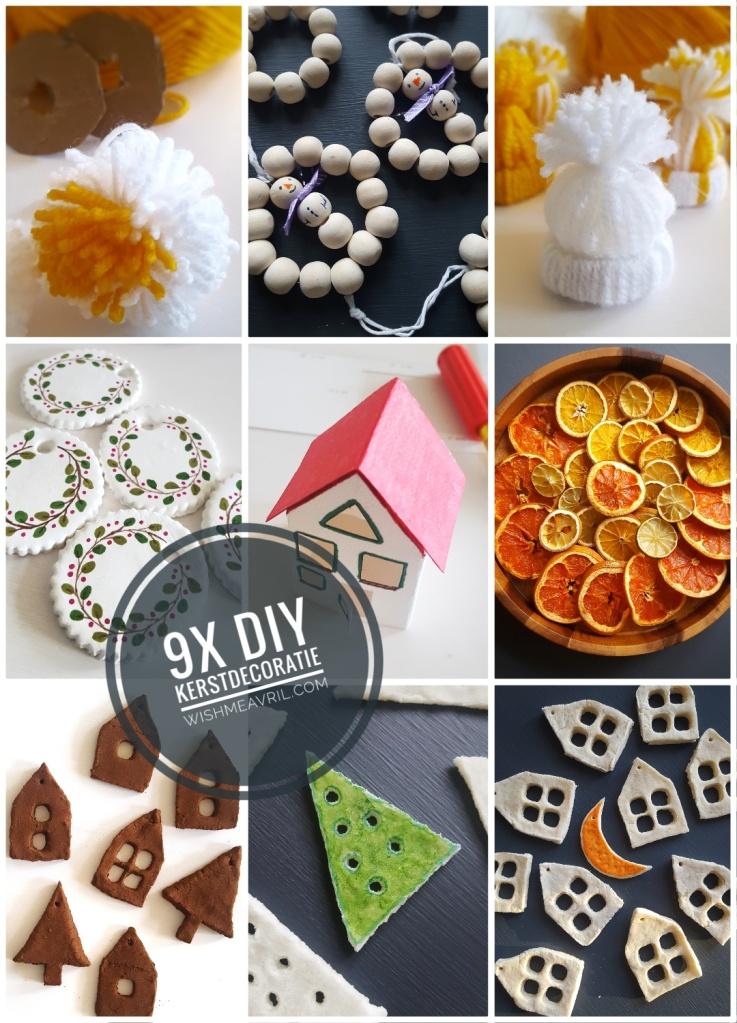 9x DIY Leuke Simpele Kerstdecoratie