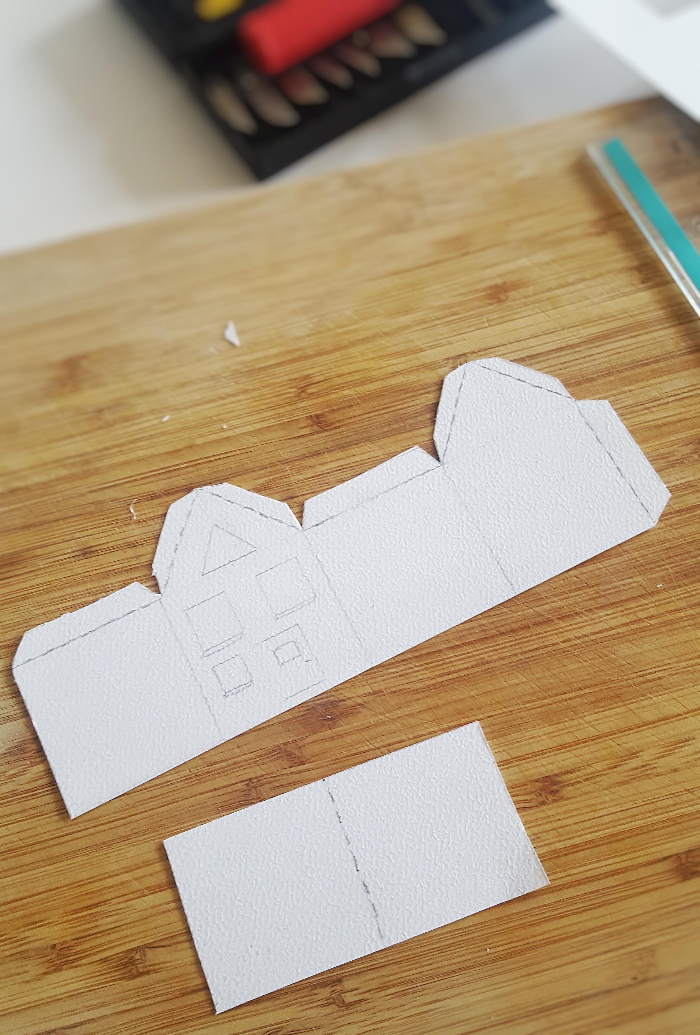 DIY Papieren Huisje