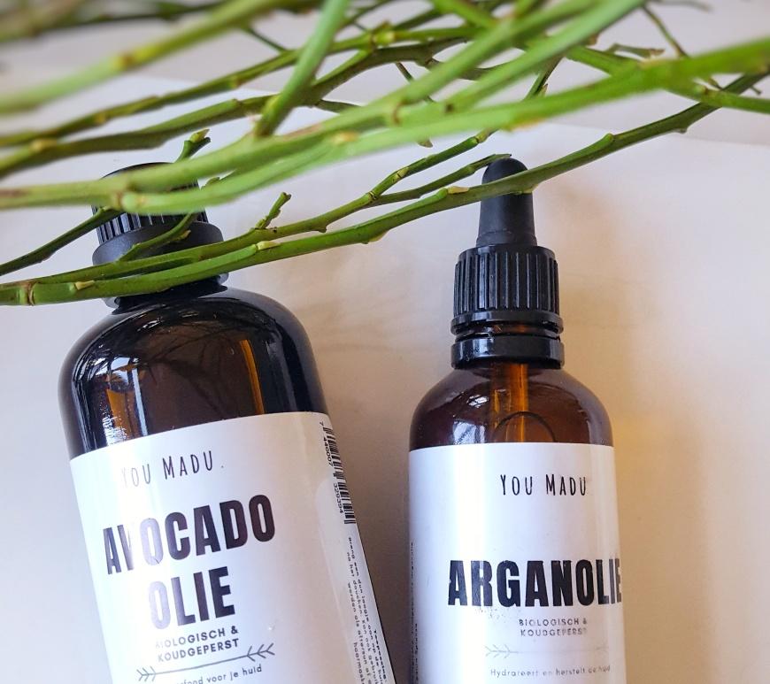 Biologische Arganolie en Avocado olie